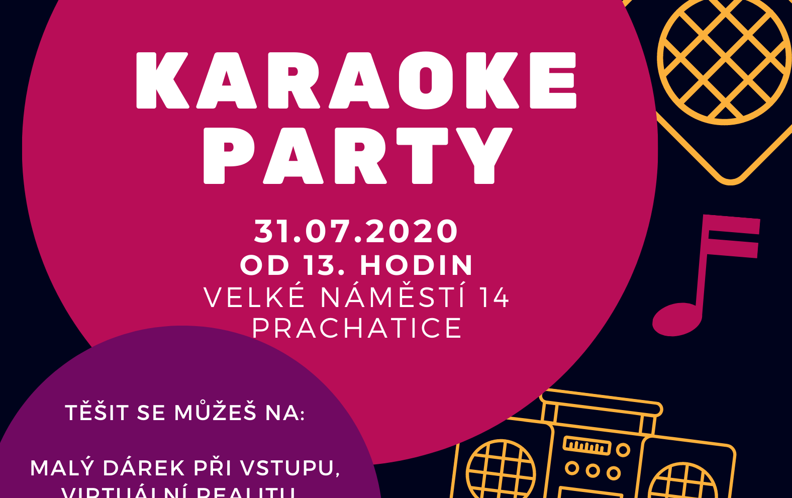 Portus Prachatice: Karaoke party